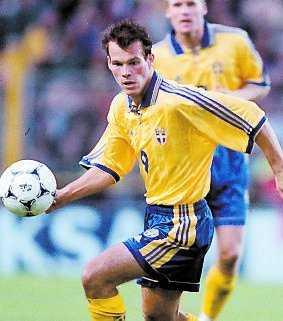 5 sept 1998: EM-kval mot England 2–1.