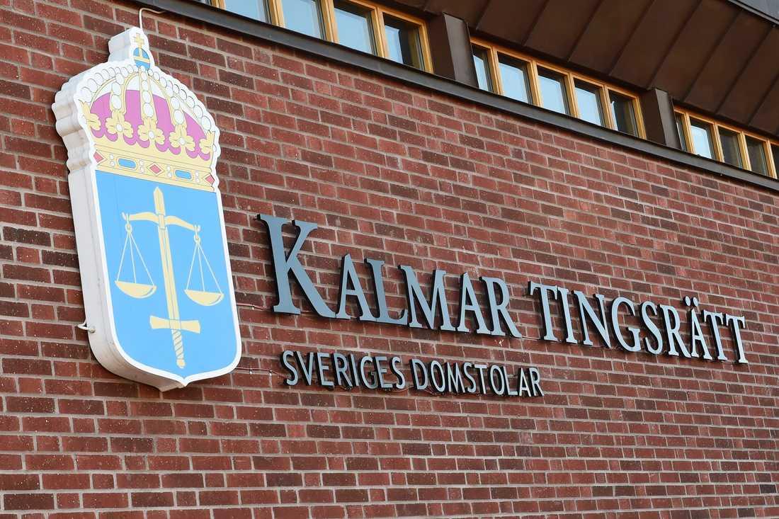Häktningsförhandlingen i Kalmar tingsrätt hålls i helgen. Arkivbild.