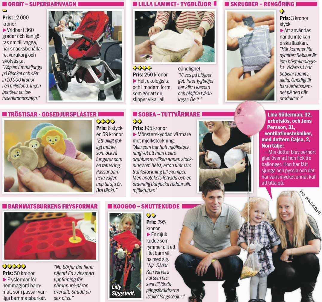 På barnmässan i Älvsjö i Stockholm finns allt en förälder behöver – och lätt kan undvara.