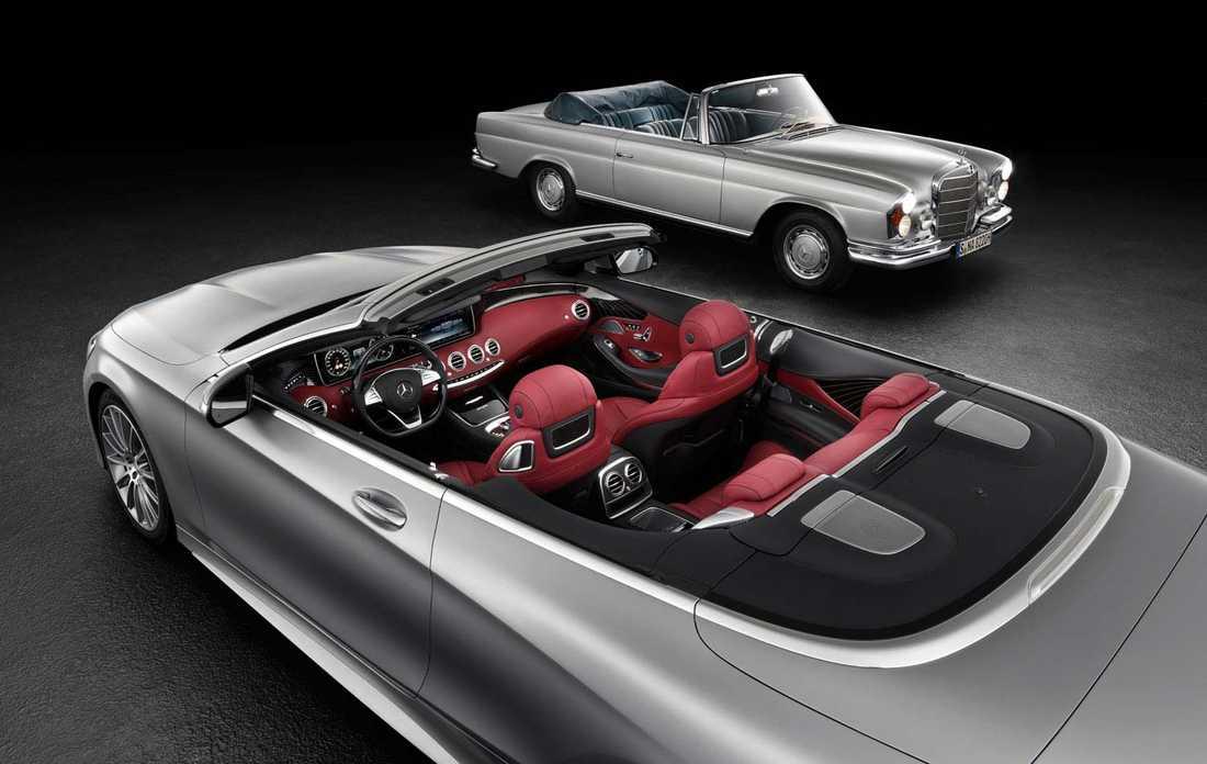 Mercedes S-Klass Cabriolet.