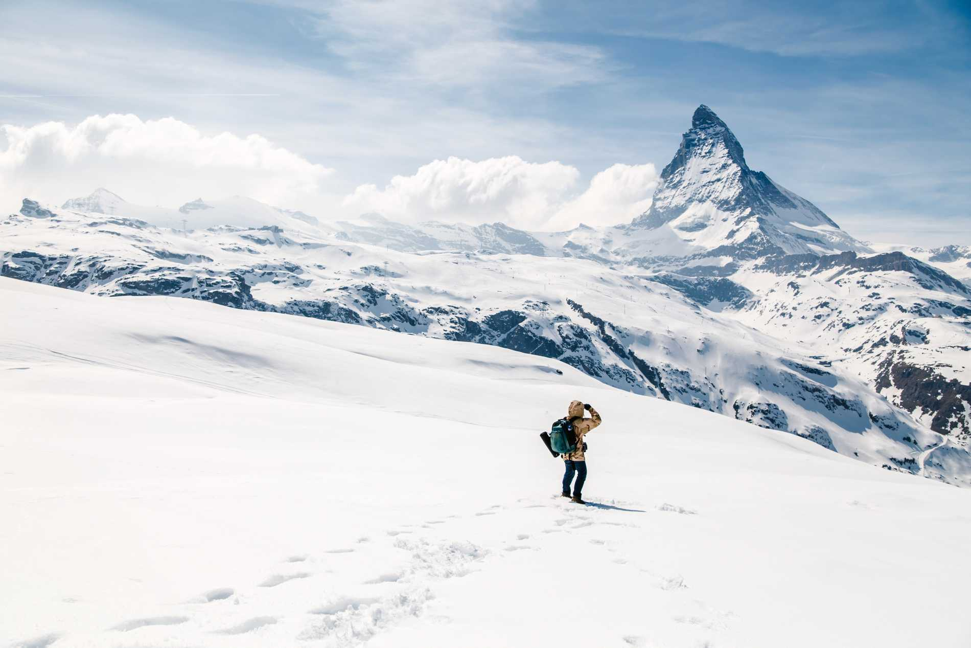 Matterhorn är ett riskabelt berg att bestiga.