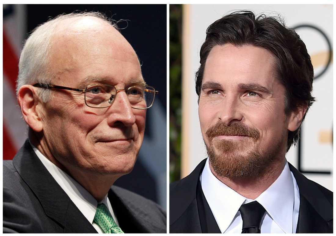 Dick Cheney och Christian Bale, som vi är vana att se honom.
