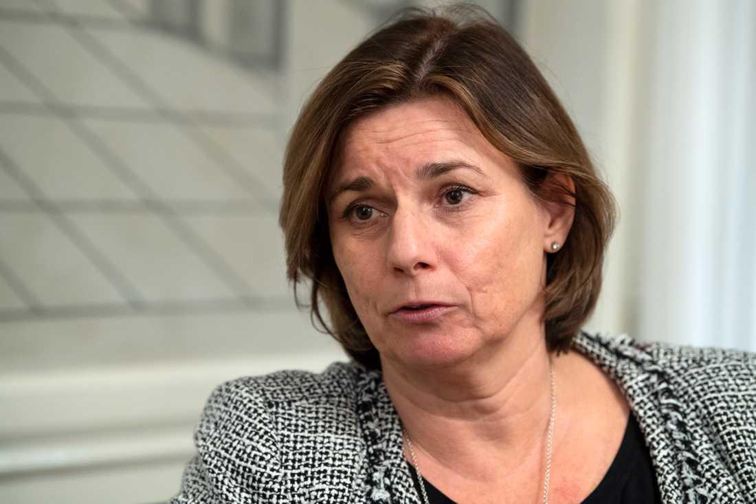 Miljö- och klimatminister Isabella Lövin (MP) deltar i de avslutande förhandlingarna på FN:s klimattoppmöte i Madrid.