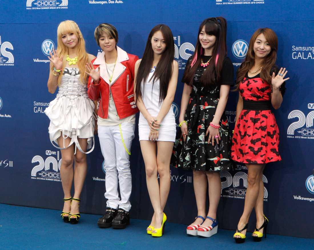 K-popgruppen f(x)