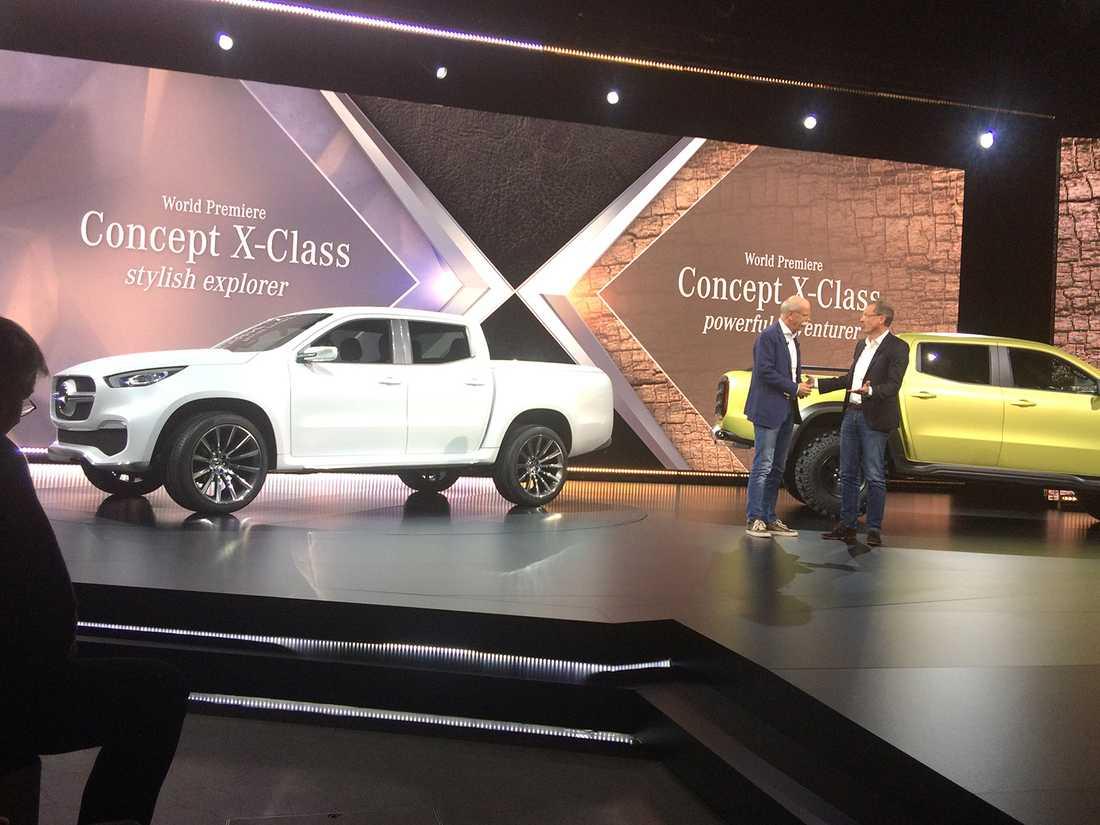 De enklare modellerna av X-Klass kommer ha motor och drivlina från Nissan – endast toppmodellen får Mercedes egna.