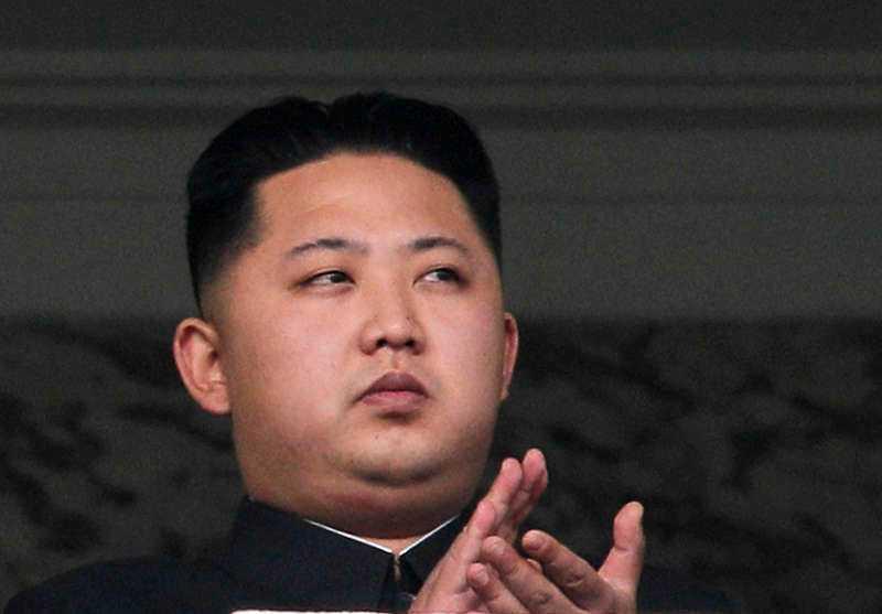 Diktatorn Kim Jong-un.
