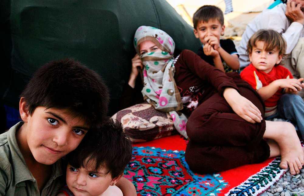 Behöver hjälp I krig är det kvinnor och barn som drabbas hårdast. I dag startar vi en insamling för deras skull och du kan bidra.