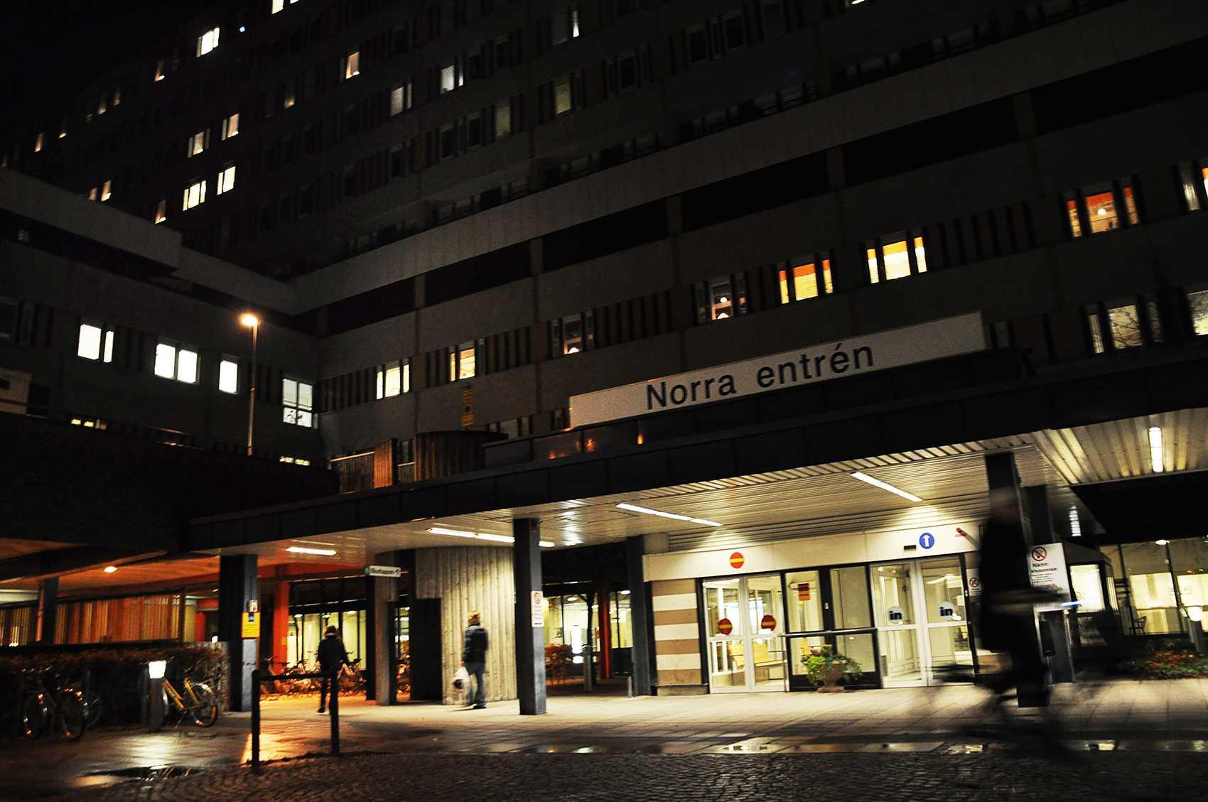 Universitetssjukhuset i Linköping larmade polisen