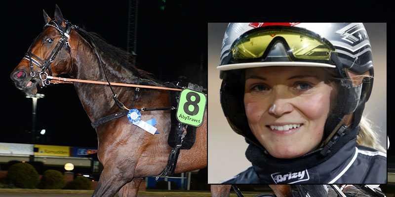 Maria Törnqvist och Rolex Bigi.