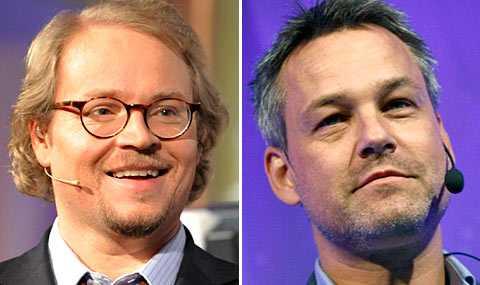 Fredrik Lindström och Henrik Schyffert ska driva med svenskarnas inredningsnörderi.