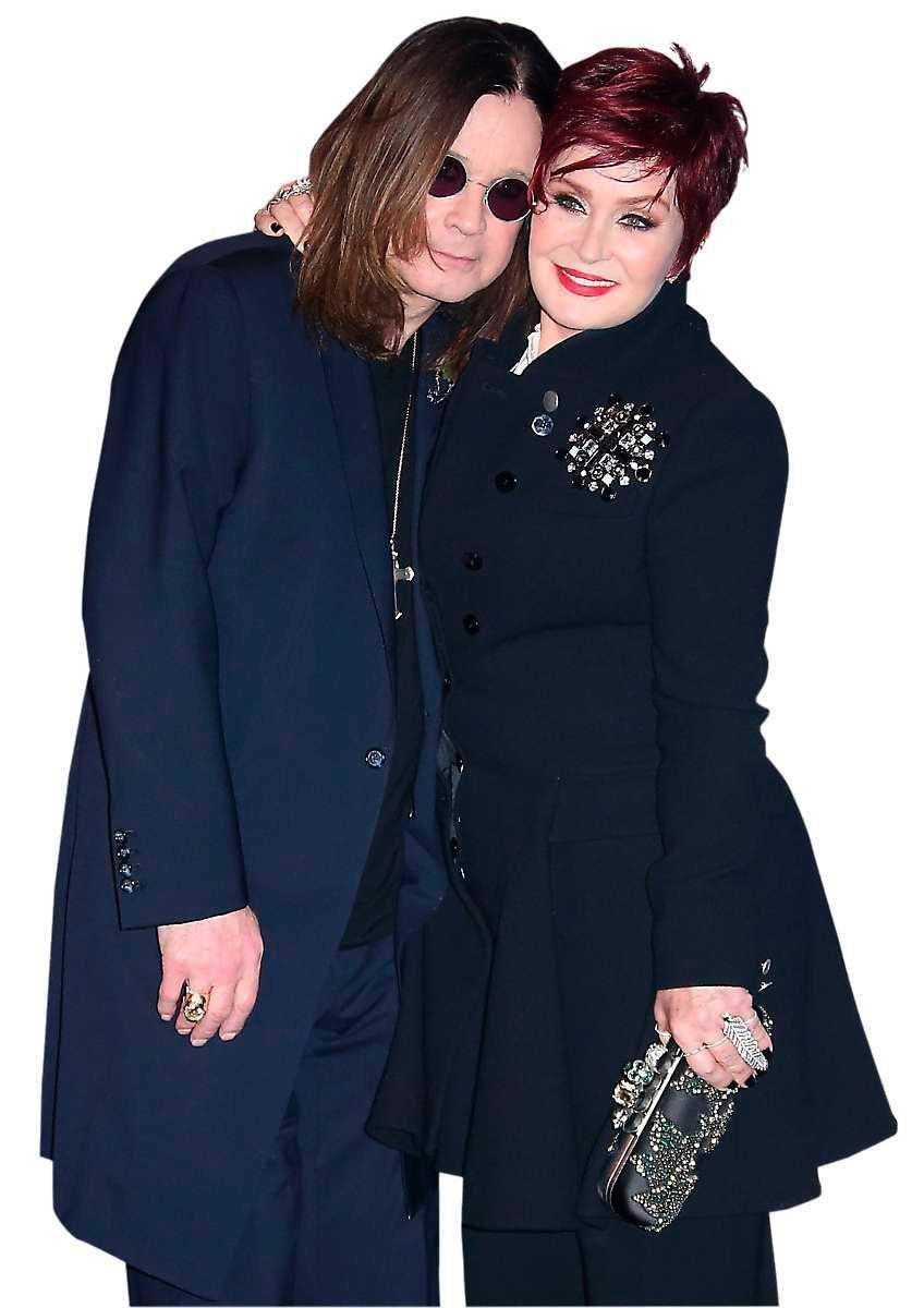 Ozzy och Sharon Osbourne.
