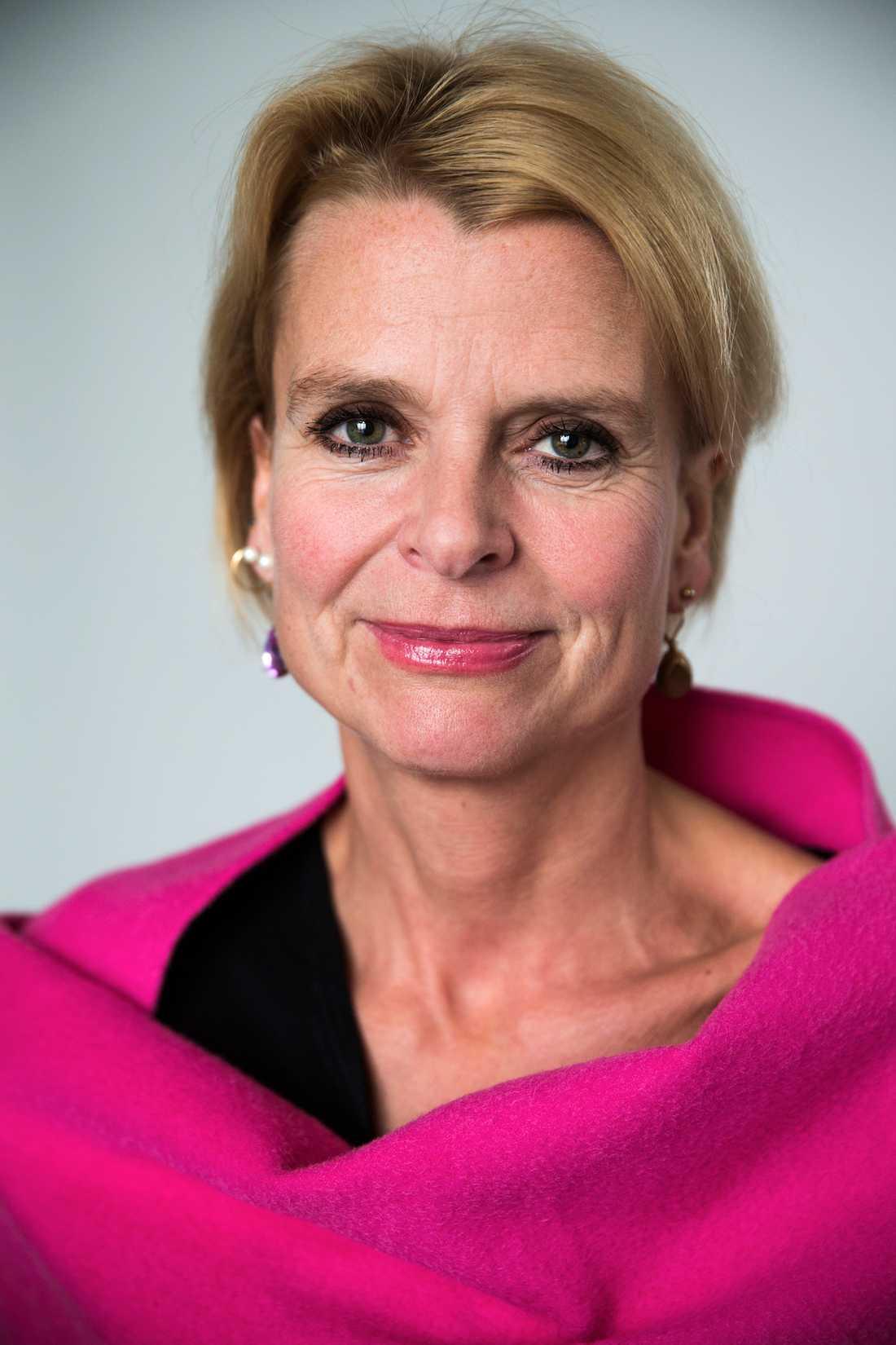 Åsa Regnér (s), barn- äldre- och jämställdhetsminister.