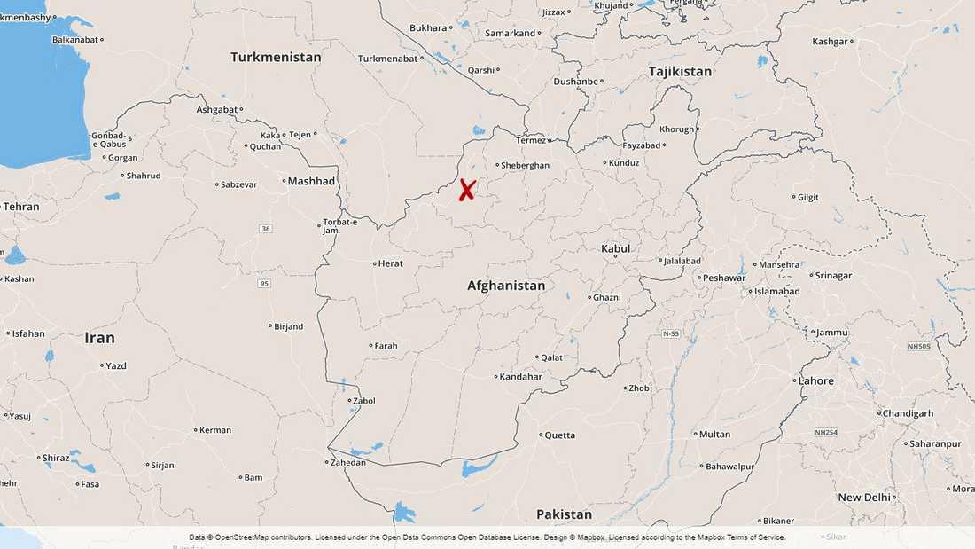 En marknad har attackerats i den afghanska provinsen Faryab.