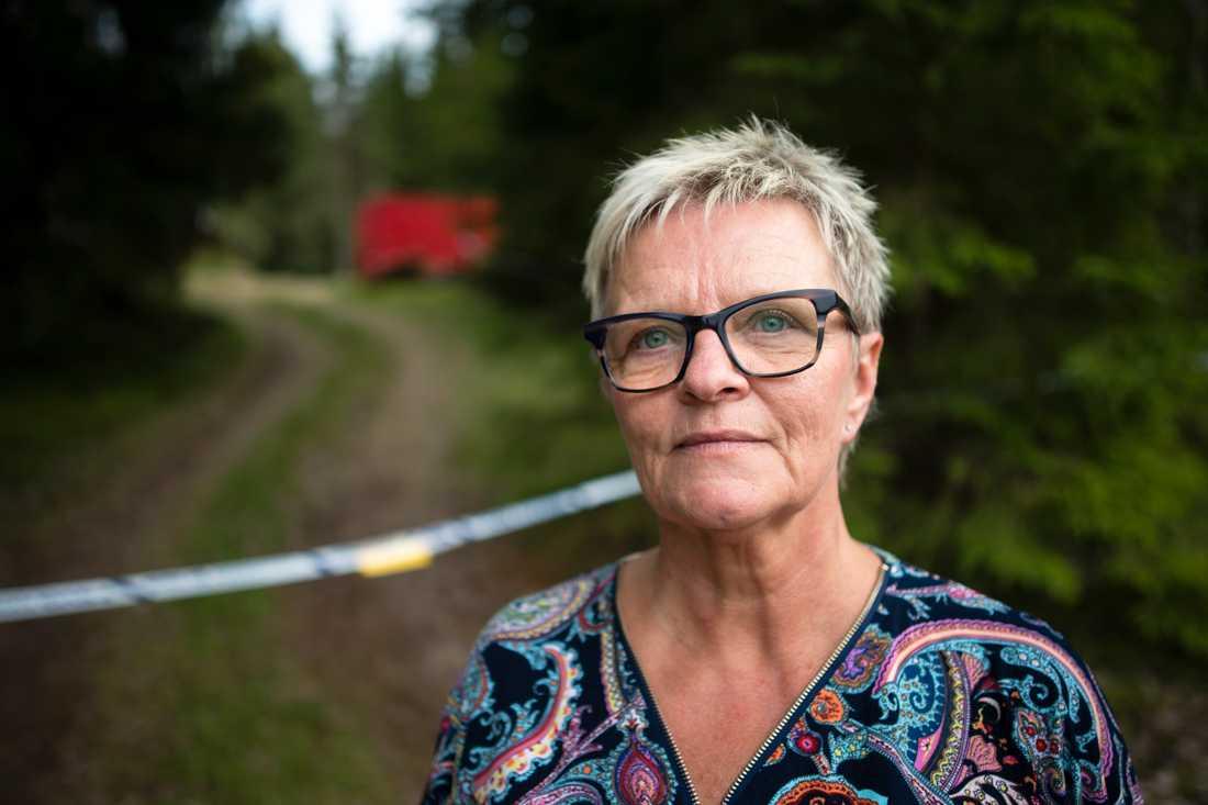 """""""Kunde han gå utan rollator? Annars hade han ju inte kommit en meter"""", säger Inger Lundh, operativ chef vid Missing People Borås och Sjuhärad."""