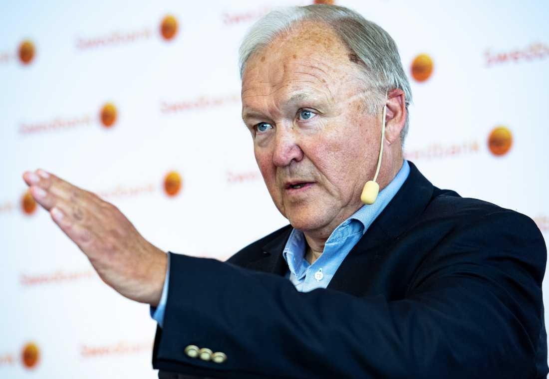 Göran Persson, styrelseordförande för Swedbank.