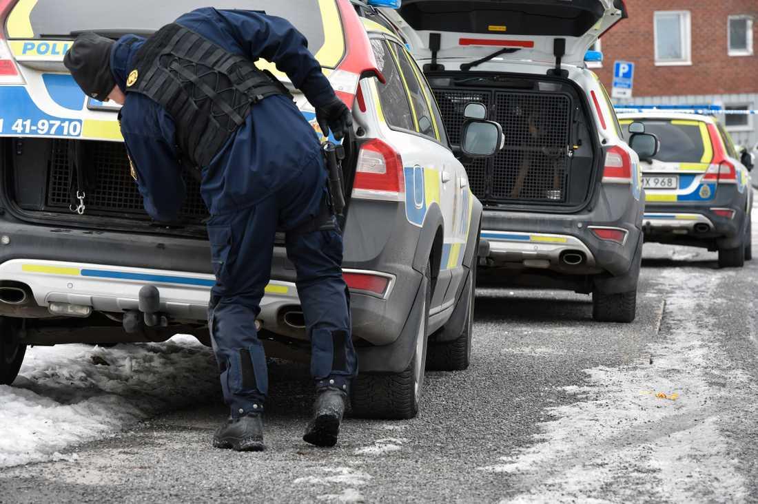 Misstänkt knivskärning i Oxelösund.