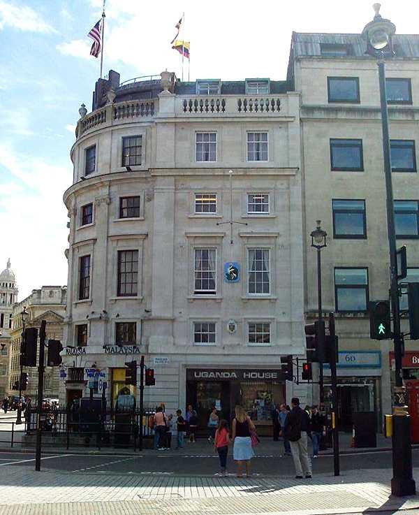 Ecuadors ambassad i London.