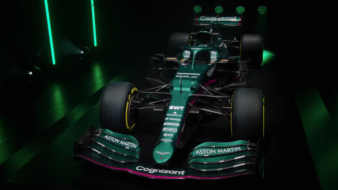 Aston Martins ny F1-bil har presenterats.
