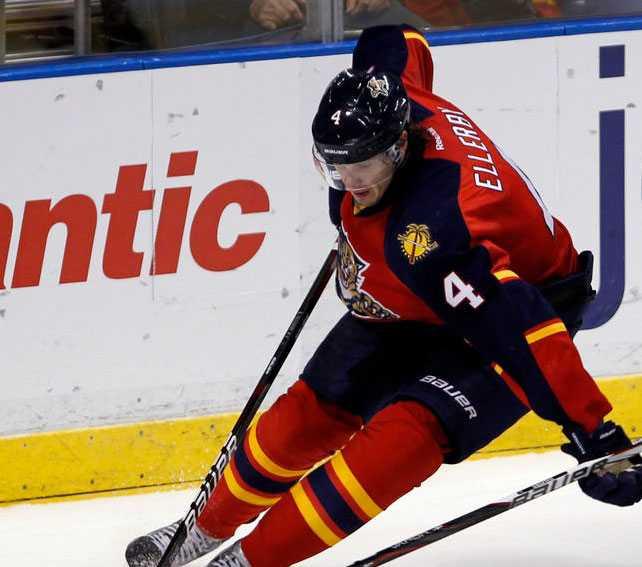 Keaton Ellerby, 23 år, back, Florida Panthers 116 NHL-matcher,