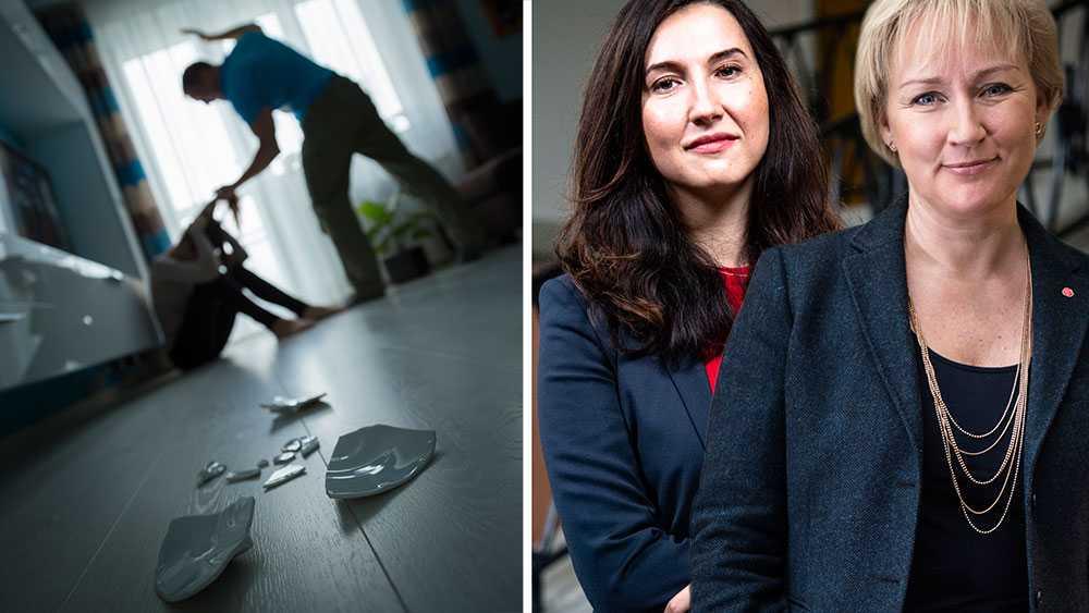 Gängvåldet skadar oss alla och vår tillit till samhället. Men vi får inte glömma bort de barn, kvinnor (och ibland även män) som lider i det tysta av våld i nära relationer. Det vanligaste våldet sker trots allt inte ute på gatan, skriver Helene Hellmark Knutsson och  Aida Hadzialic (S).
