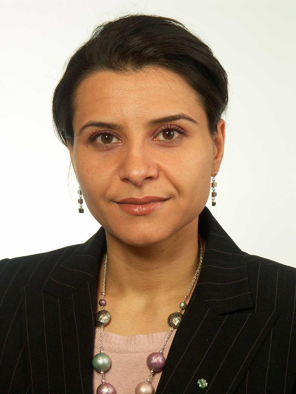 Riksdagsledamoten Abir Al-Sahlani