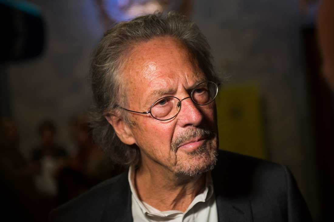 Österrikiska författaren Peter Handke.
