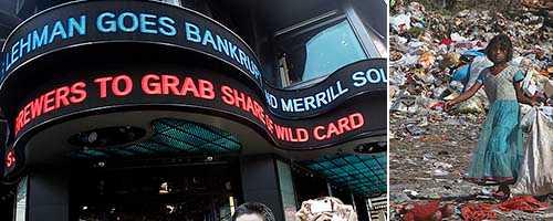 Lehman Brothers konkurs 2008 var början till slutet för kapitalismen, skriver Paul Mason.