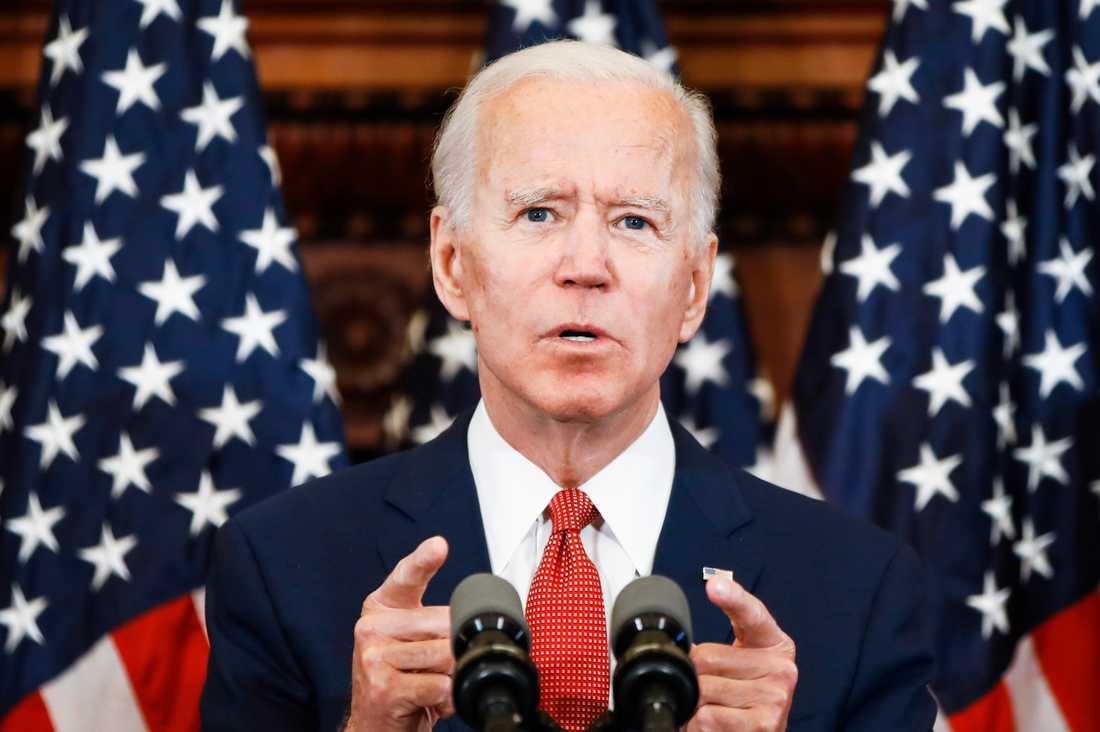 Demokraternas presidentkandidat, Joe Biden.