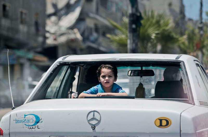 Barnens oerhörda lidande i Gaza gör oss akut påminda om hur utsatta de är för fattigdom och våld, något som behöver ges särskild hänsyn även i EU, enligt Jytte Guteland.Foto
