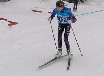 Hannah Karlsson i dagens lopp.