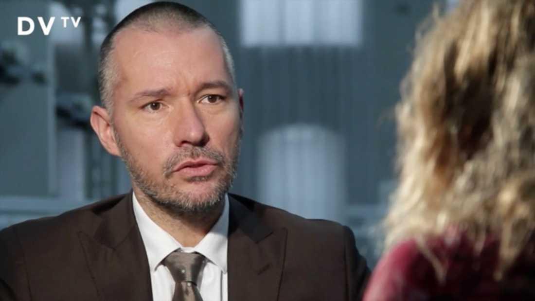 Katerina Janouch intervjuades i tjeckisk tv.