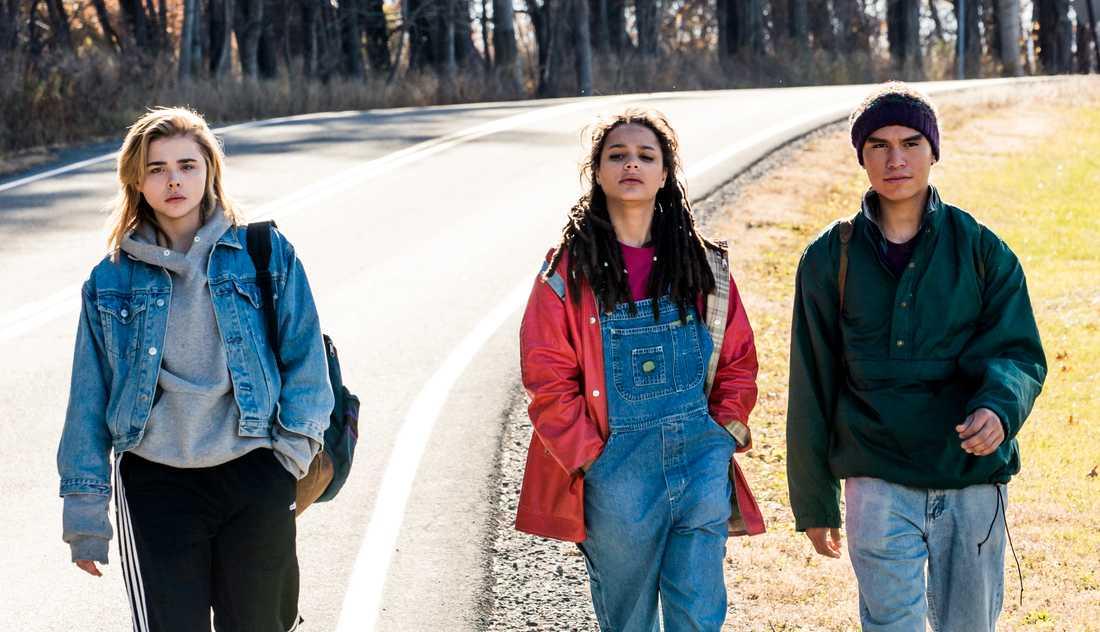 Chloë Grace Moretz, Sasha Lane och Forrest Goodluck.