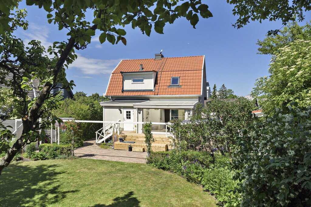 Villan på Ärtholmsvägen lockade flest besökare i förra veckan.
