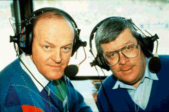 Under många år jobbade Assar Rönnlund som radiokommentator ihop med Åke Strömmer.