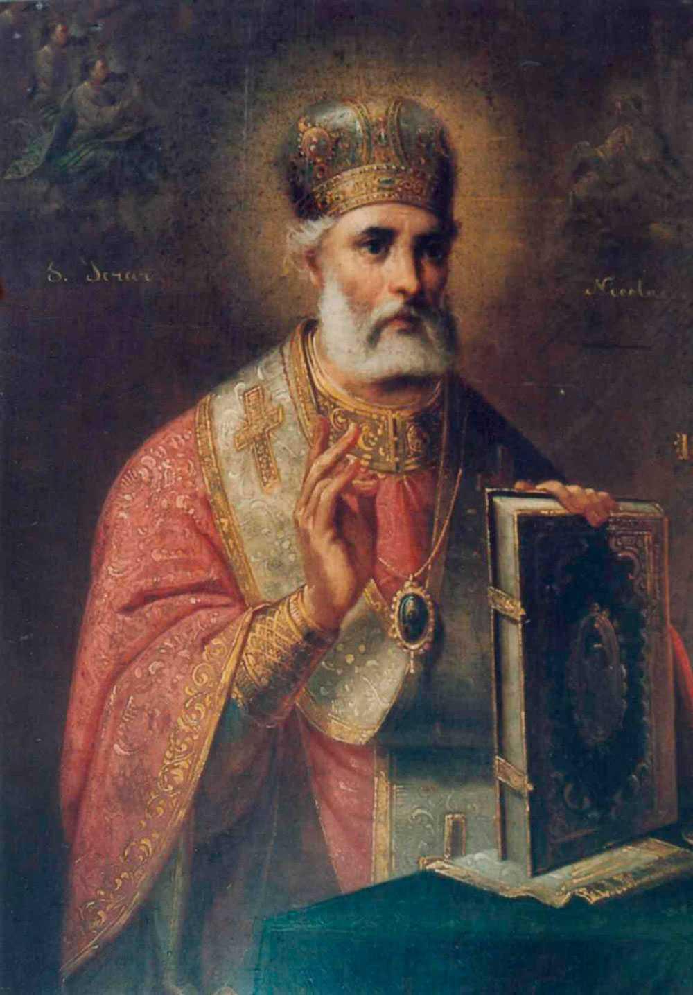 Biskopen Sankt Nikolaus var känd för sin blygsamma givmildhet