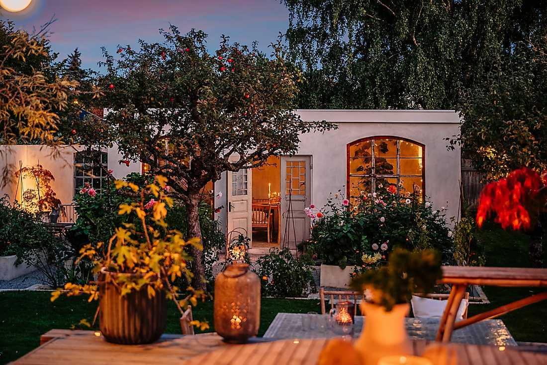 Villa i Kulladal med orangeri i trädgården toppar klicktoppen vecka 43.