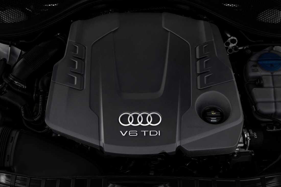 Motorn som Audi nu erkänt fusk med 3,0 TDI.