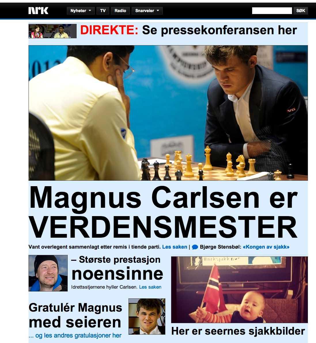 NRK har livesänt matchen och hårdbevakat den stenhårt.