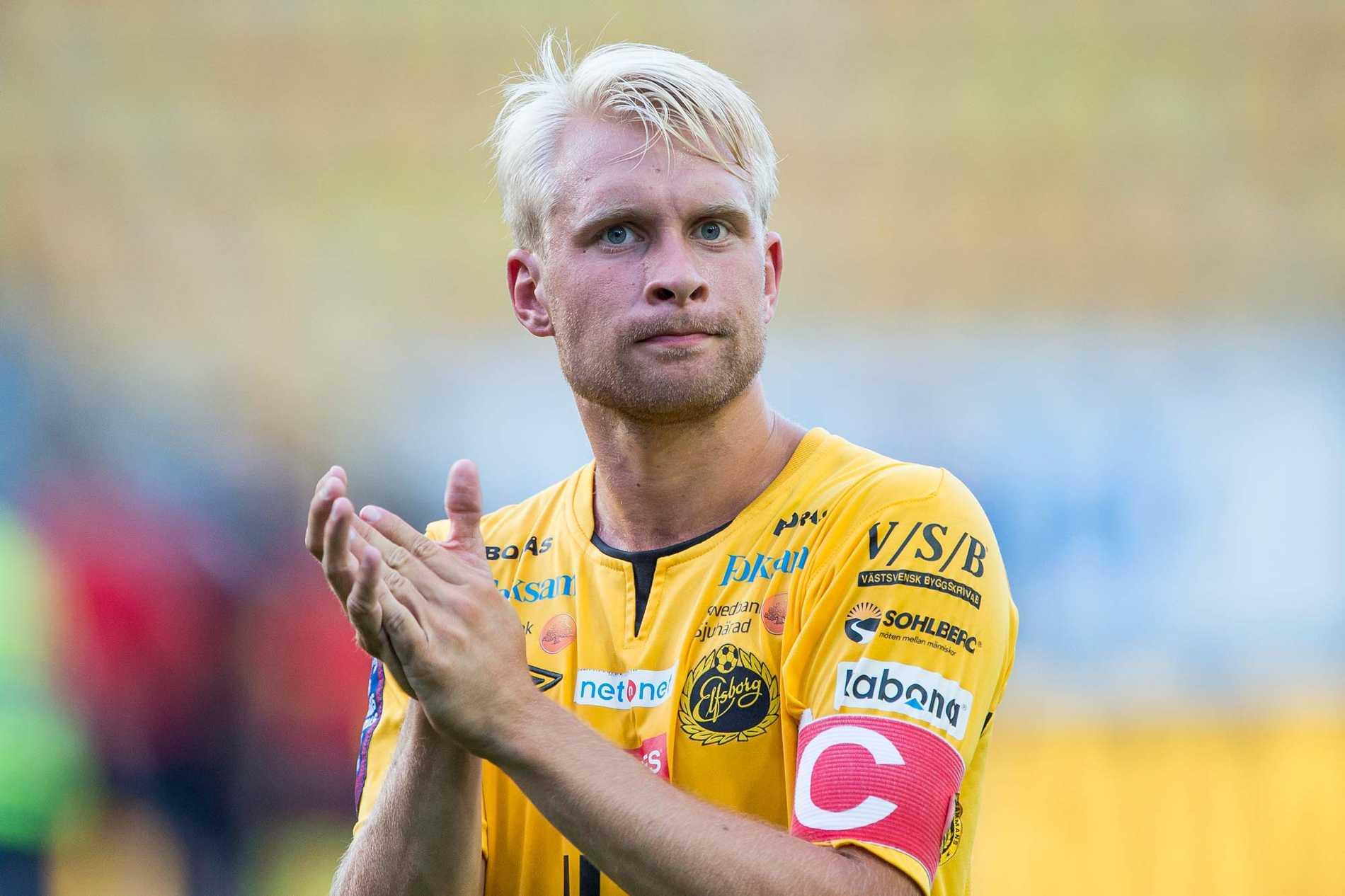 Johan Larsson lämnar Elfsborg.