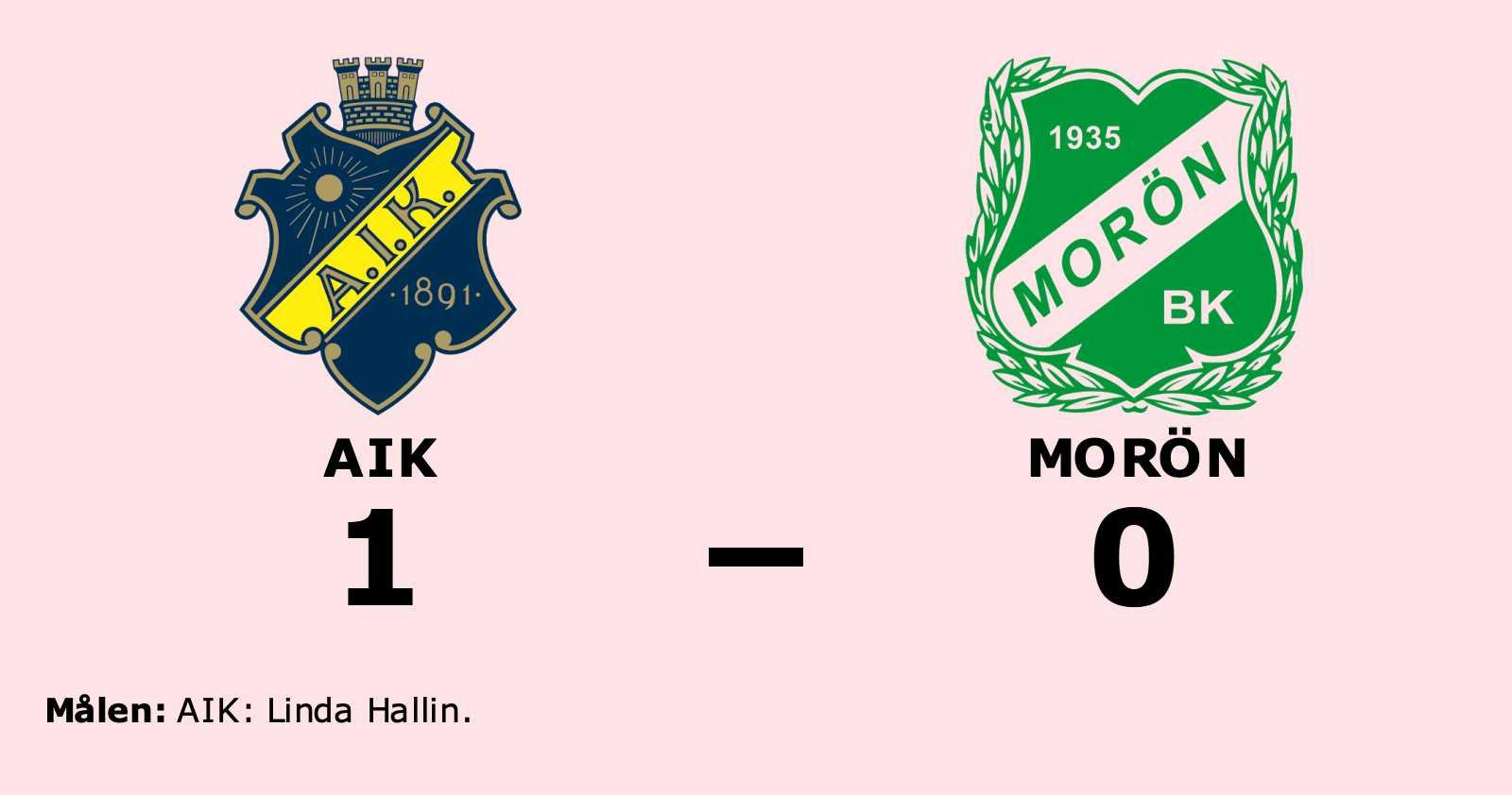 Stark seger för AIK i toppmatchen mot Morön
