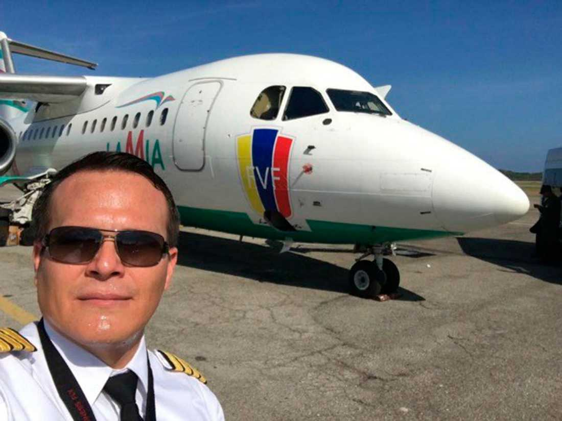 Piloten Miguel Quiroga.