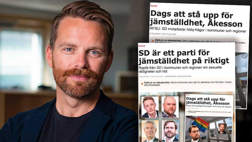Att Sverigedemokraterna motarbetar frågor om alla människors rätt till sin kropp och sexualitet  är inte fråga om svartmålning. Det är fakta, skriver RFSU:s förbundsordförande Hans Linde.