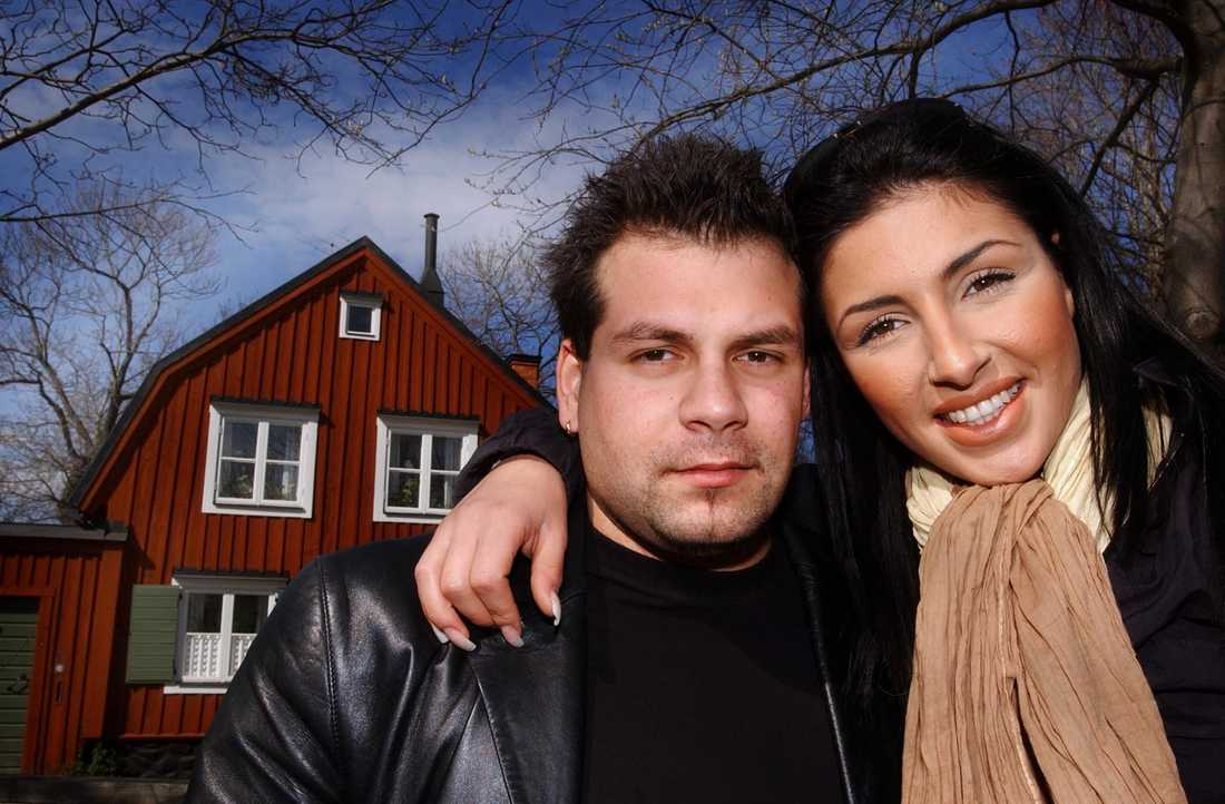 Helena Paparizou och Nikios Panagiotidis 2003.