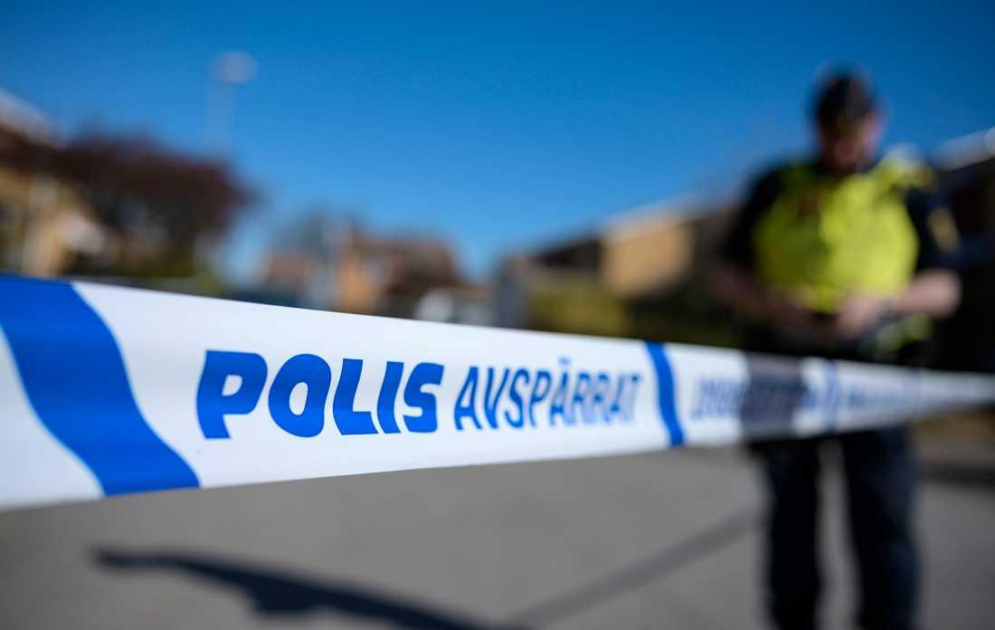 En person har hittats död efter en brand i Lysekil, uppger polisen. Arkivbild.