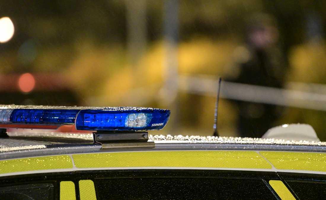 Polisen jagar flera gärningsmän efter ett rån mot en butik på Öland. Arkivbild.