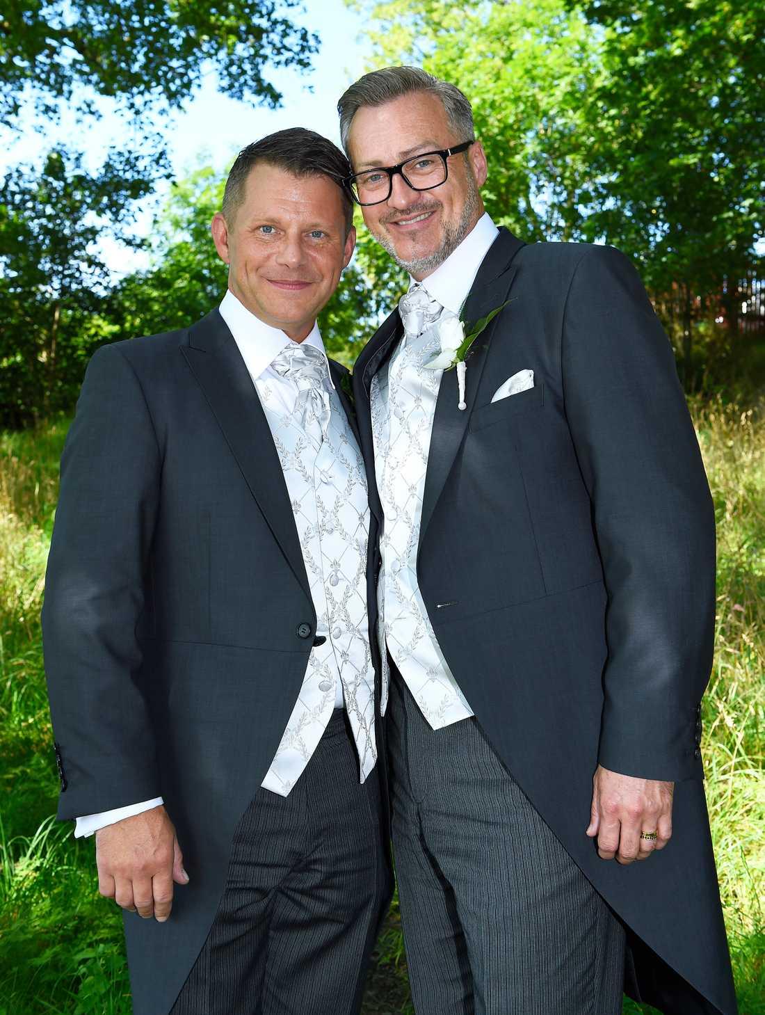 Tony Irving och Alexander Skiöldsparr.