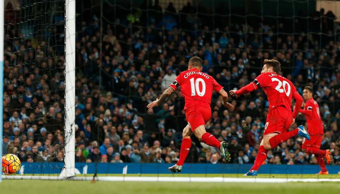 2–0 av Coutinho, på passning från Roberto Firmino.
