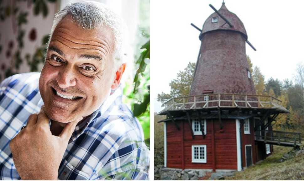 Ernst Kirschsteigers nya sommarprojekt är Kånsta kvarn. Något byborna inte helt uppskattar.