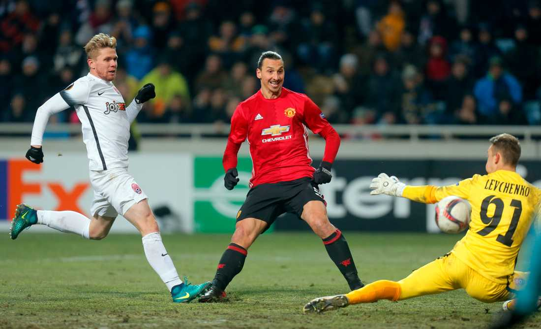 Zorya mötte Zlatans Manchester United i Europa league senast.