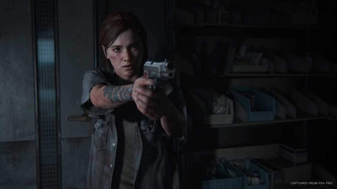 """Ellie är på jakt efter hämnd i """"The last of us: Part II"""". Pressbild."""